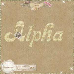 calligraphia alphabet