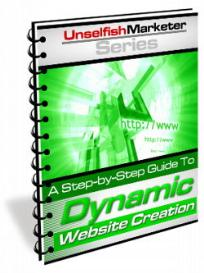 a step-by-step guide to dynamic website creation