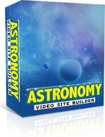 astronomy video sitebuilder software