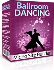 ballroom dancing site builder