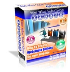 create web audio buttons