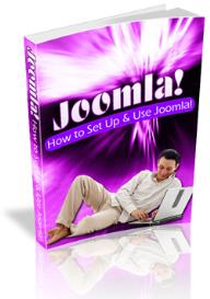 how to set up and use joomla