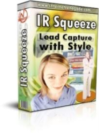 ir squeeze: lead capture with style