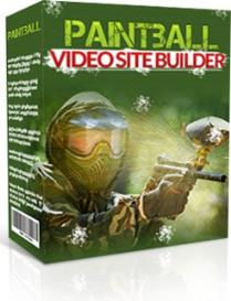 paintball video site builder
