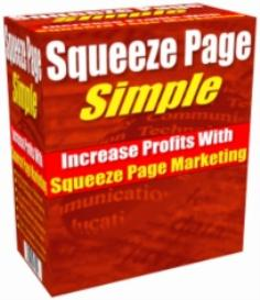 squeeze page simple