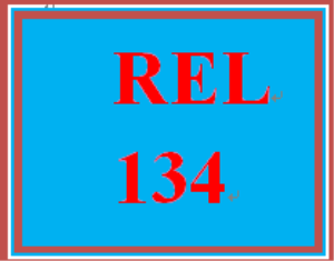 REL 134 Entire Course | eBooks | Education