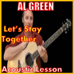 learn to play lets stay together by al green