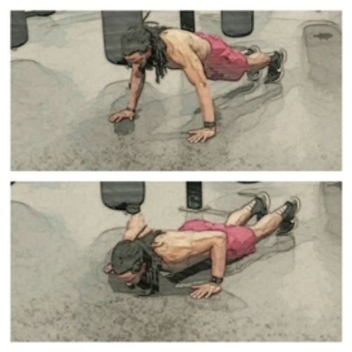 Second Additional product image for - The Hectic Hundreds Chest Workout