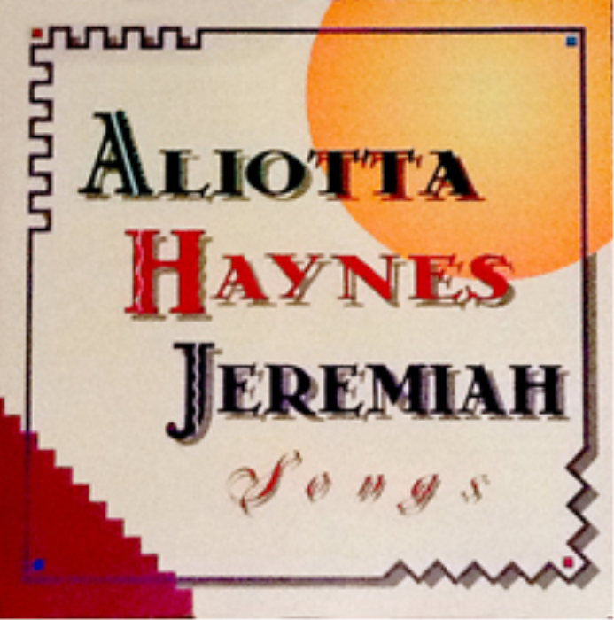 First Additional product image for - Aliotta Haynes Jeremiah - Songs (Album)