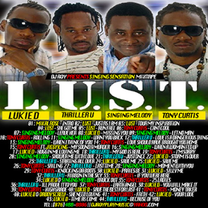 d roy presents lukie d , singing melody , tony curtis & thriller u l.u.s.t singing sensation