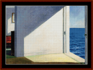 Rooms by the Sea - Hopper cross stitch pattern by Cross Stitch Collectibles | Crafting | Cross-Stitch | Other