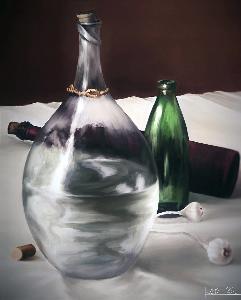 glass and light study