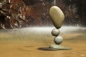 Impossible Stone Balance | Photos and Images | Nature