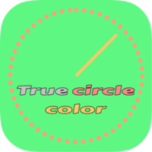 true circle color sourcecode