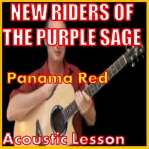 learn to play panama red by new riders of the purple sage