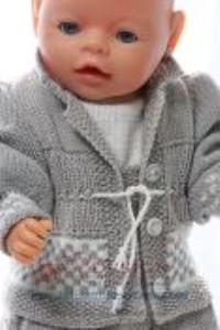 DollKnittingPatterns 0151D VILDE - Rokje, Bloesje, Broekje, Jasje, Muts en Schoentjes-(Nederlands) | Crafting | Knitting | Other