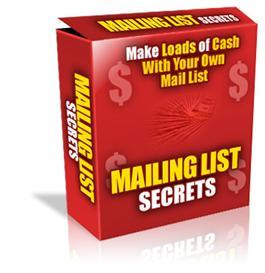 Mailing List Secrets | eBooks | Internet