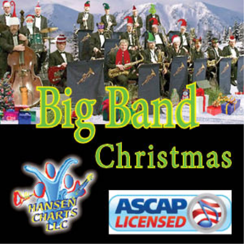 First Additional product image for - Blue Christmas Big Band VooDoo Daddy for full 5444 big band, 211 optional strings and optional vocal or instrumental - 2016 edition