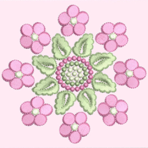 Laura's Pinks Collection PES | Crafting | Embroidery