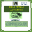 Bible Puzzle Activities: Books Of The Bible | eBooks | Religion and Spirituality
