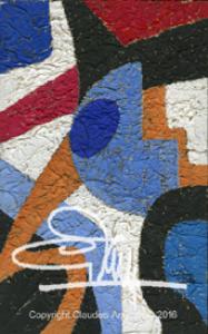 """claude's art:  dessin # 63g """"papiers froissés"""" hd"""