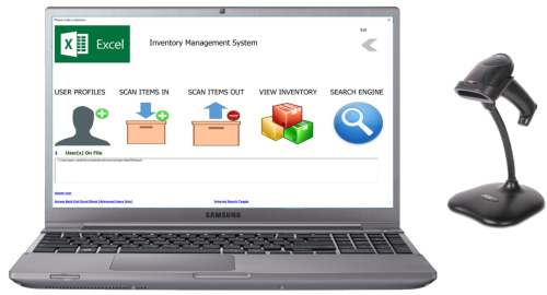 First Additional product image for - Excel Inventory Mgt System