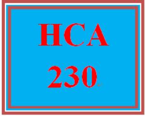 HCA 230 Week 5 Are You A Good Communicator? | eBooks | Education