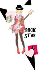 rock star girl locker printable