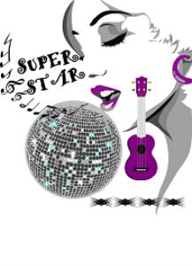 super star locker printable/card/design/cd cover