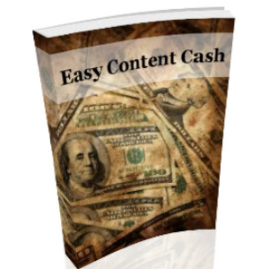 Easy Content Cash | eBooks | Internet