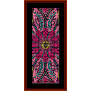 Fractal 570 Bookmark cross stitch pattern by Cross Stitch Collectibles | Crafting | Cross-Stitch | Other