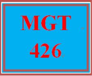 MGT 426 Week 1 Impetus for Change | eBooks | Education
