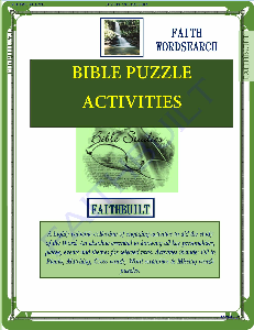 Faith Wordsearch | eBooks | Religion and Spirituality