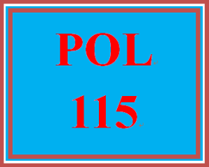 pol 115 entire course