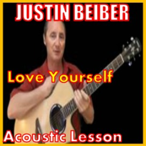 learn to play love yourself by justin beiber
