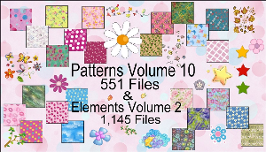 paint shop pro elements & patterns pack 2 made by sophia delve
