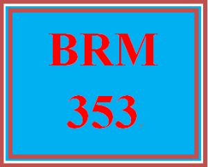 BRM 353 Week 5 Product/Brand Development: Phase III | eBooks | Education