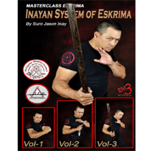 Inayan System of Escrima 3 DVD set | Movies and Videos | Training