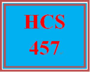hcs 457 week 5 conversation starter
