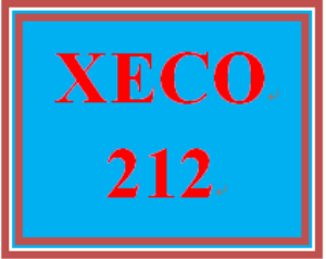 XECO 212 Entire Course | eBooks | Education