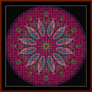 Fractal 570 cross stitch pattern by Cross Stitch Collectibles | Crafting | Cross-Stitch | Wall Hangings