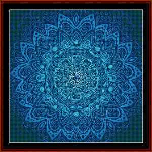 Fractal 573 cross stitch pattern by Cross Stitch Collectibles | Crafting | Cross-Stitch | Wall Hangings