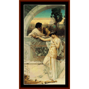 The Entreaty - Godward cross stitch pattern by Cross Stitch Collectibles | Crafting | Cross-Stitch | Wall Hangings