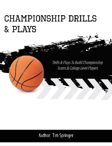 championship drills & plays