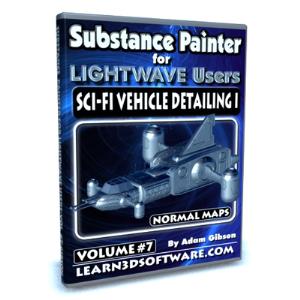 substance painter for lightwave users-volume #7-sci-fi vehicle detailing i- normal maps