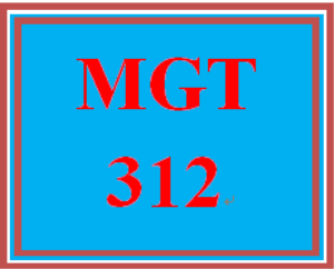 MGT 312 Week 1 Organizational Behavior in the Workplace | eBooks | Education