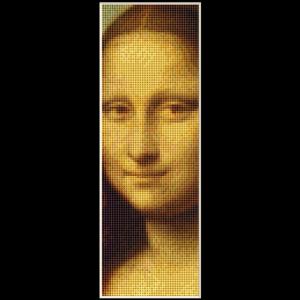 Mona Lisa Bookmark  - DaVnci cross stitch pattern by Cross Stitch Collectibles | Crafting | Cross-Stitch | Other