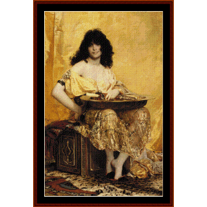 Salomé - Henri Regnault cross stitch pattern by Cross Stitch Collectibles | Crafting | Cross-Stitch | Wall Hangings