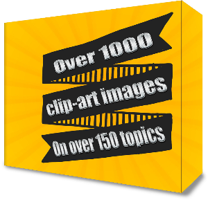 over 1000 clip-art images on over 150 topics