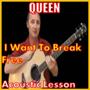 learn to play i want to break free by queen